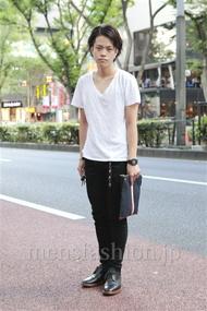 ファッションコーディネート原宿・表参道 2012年09月 増渕雄一さん