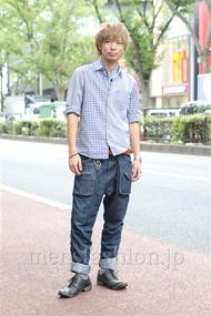 ファッションコーディネート原宿・表参道 2012年09月 香山拓也さん