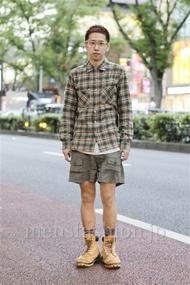 ファッションコーディネート原宿・表参道 2012年09月 晴さん