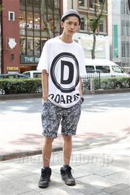 ファッションコーディネート原宿・表参道 2012年09月 溝口健太さん