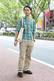 ファッションコーディネート原宿・表参道 2012年09月 青山清志さん