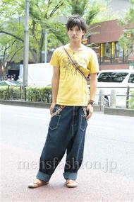ファッションコーディネート原宿・表参道 2012年09月 村田貴洋さん