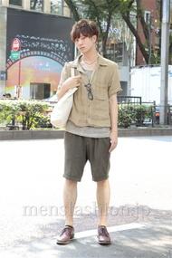 ファッションコーディネート原宿・表参道 2012年09月 濱田裕平さん