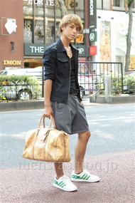 ファッションコーディネート原宿・表参道 2012年09月 音吉洋介さん