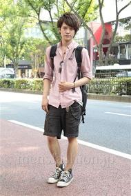 ファッションコーディネート原宿・表参道 2012年09月 松下雄一郎さん