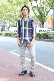 ファッションコーディネート原宿・表参道 2012年09月 服部大起さん