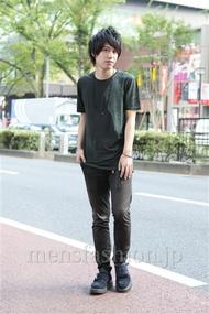 ファッションコーディネート原宿・表参道 2012年09月 菊池快瑠さん