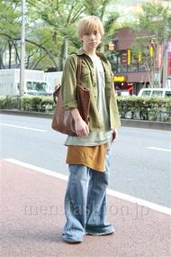ファッションコーディネート原宿・表参道 2012年09月 内田 遼さん