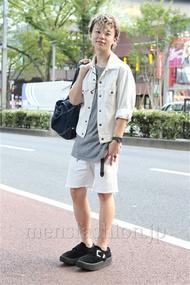 ファッションコーディネート原宿・表参道 2012年09月 アンドウコウイチさん
