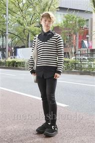 ファッションコーディネート原宿・表参道 2012年10月 アンドウコウイチさん