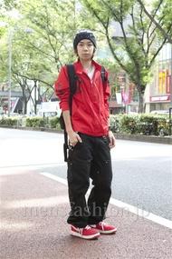 ファッションコーディネート原宿・表参道 2012年10月 アオキケンシンさん