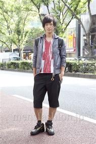 ファッションコーディネート原宿・表参道 2012年10月 小峰駿介さん