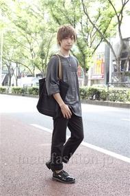 ファッションコーディネート原宿・表参道 2012年10月 高木眞之介さん
