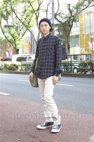 ファッションコーディネート原宿・表参道 2012年10月 SOEさん