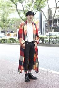 ファッションコーディネート原宿・表参道 2012年10月 晴さん