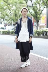 ファッションコーディネート原宿・表参道 2012年10月 伏貫 諒さん