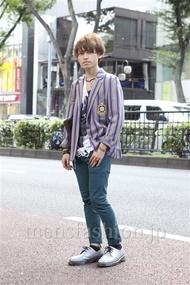ファッションコーディネート原宿・表参道 2012年10月 金井雄亮さん