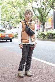 ファッションコーディネート原宿・表参道 2012年10月 佐藤貴龍さん