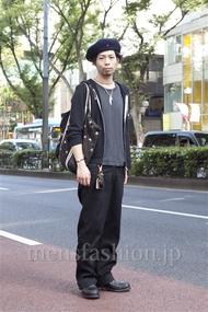 ファッションコーディネート原宿・表参道 2012年10月 小林綾太さん
