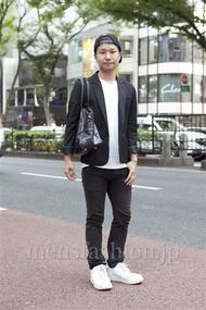 ファッションコーディネート原宿・表参道 2012年10月 島根拓朗さん