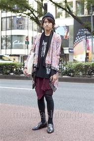 ファッションコーディネート原宿・表参道 2012年10月 やっちゃんさん