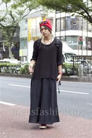 ファッションコーディネート原宿・表参道 2012年10月 高木進之介さん