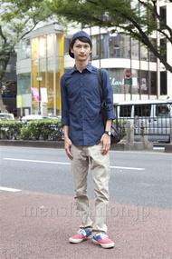 ファッションコーディネート原宿・表参道 2012年10月 滝沢宏至さん