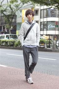 ファッションコーディネート原宿・表参道 2012年10月 市川勇輝さん