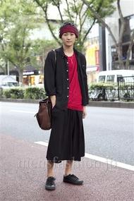 ファッションコーディネート原宿・表参道 2012年10月 高橋直斗さん