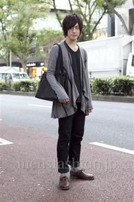 ファッションコーディネート原宿・表参道 2012年10月 北向達也さん