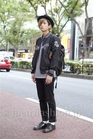 ファッションコーディネート原宿・表参道 2012年10月 加藤康貴さん