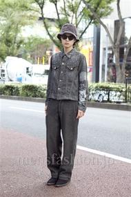 ファッションコーディネート原宿・表参道 2012年10月 長澤隆太郎さん