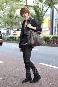 ファッションコーディネート原宿・表参道 2012年10月 斎藤亮太さん