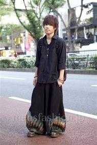 ファッションコーディネート原宿・表参道 2012年10月 あきとさん