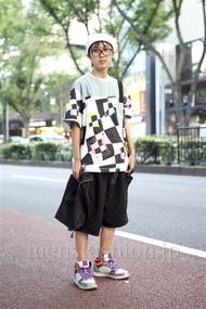 ファッションコーディネート原宿・表参道 2012年10月 しゅうさん