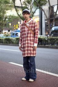 ファッションコーディネート原宿・表参道 2012年10月 タナカヒロヒトさん