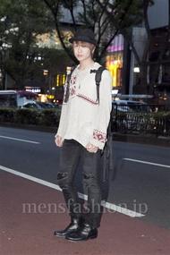 ファッションコーディネート原宿・表参道 2012年10月 須貝昂平さん