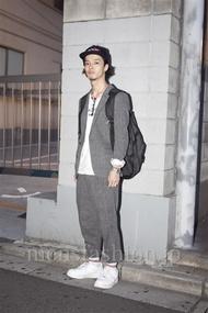ファッションコーディネート原宿・表参道 2012年10月 田村雄治さん