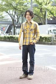 ファッションコーディネート原宿・表参道 2012年10月 青山清志さん