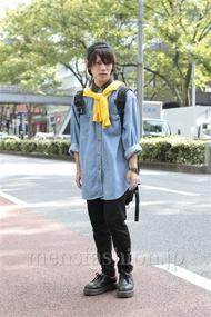ファッションコーディネート原宿・表参道 2012年10月 夏川登志郎さん