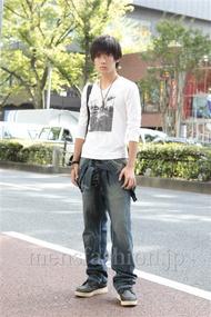 ファッションコーディネート原宿・表参道 2012年10月 藤岡秀太さん