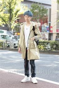 ファッションコーディネート原宿・表参道 2012年10月 斎藤章平さん