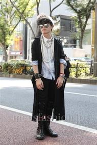 ファッションコーディネート原宿・表参道 2012年10月 nabescoさん