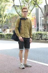 ファッションコーディネート原宿・表参道 2012年10月 ワタベショウマさん