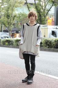 ファッションコーディネート原宿・表参道 2012年10月 石井俊伍さん