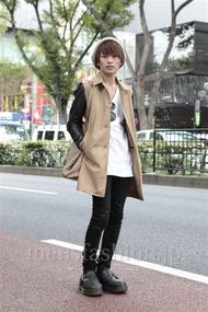 ファッションコーディネート原宿・表参道 2012年10月 上野 亮さん