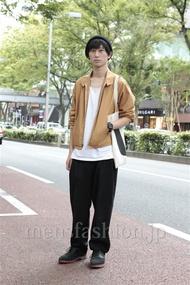 ファッションコーディネート原宿・表参道 2012年10月 松金祐太さん