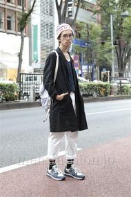 ファッションコーディネート原宿・表参道 2012年10月 浦辻大奨さん