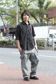 ファッションコーディネート原宿・表参道 2012年10月 服部大起さん