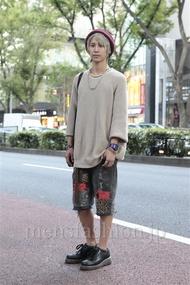 ファッションコーディネート原宿・表参道 2012年10月 れんさん